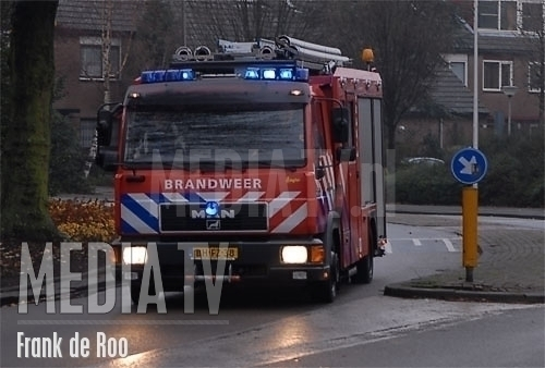 Brievenbus in de brand