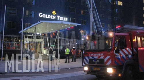 Grote brand in Hotel