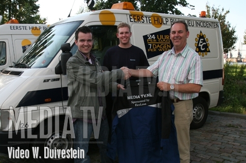 Ecoloss sponsort jassen voor Media Tv