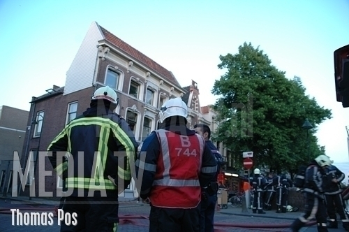 Grote brand in oude centrum