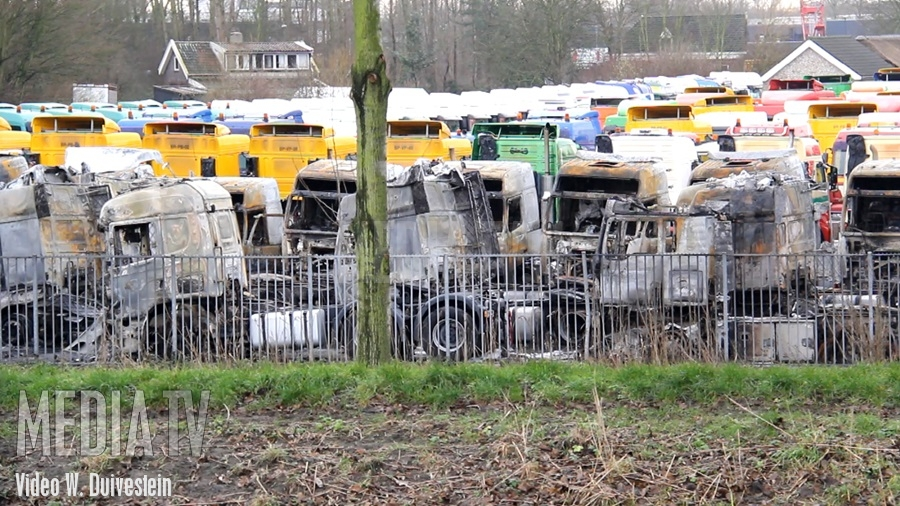 The Day After... Zeer grote brand Polderweg Schiedam (video)
