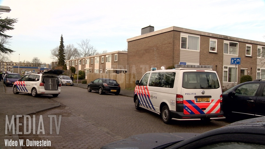Woningoverval Pluvierstraat Capelle aan den IJssel (video)