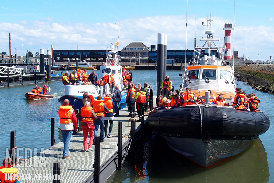 2 mei is Reddingbootdag bij de KNRM