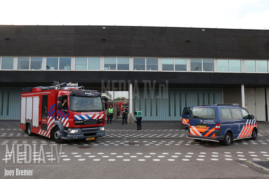 Brand in cel van Detentiecentrum Rotterdam (video)