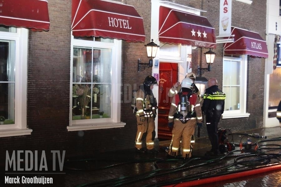 Brand in Hotel Atlas Brielle