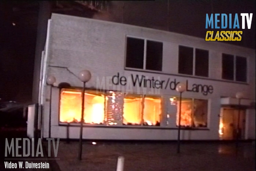 MediaTVClassics: (1993) Brand verwoest meubelfabriek in Vlaardingen (video)