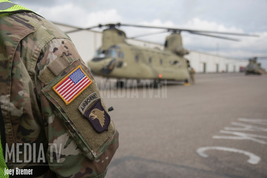 10th American Combat Aviation Brigade maakt zich op voor terugreis New York (video)